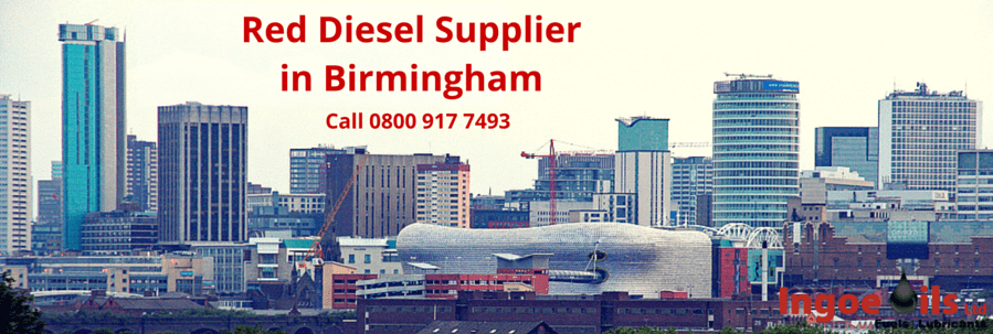 Red Diesel Supplier in Birmingham
