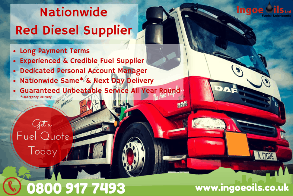 Nationwide Red Diesel Supplier